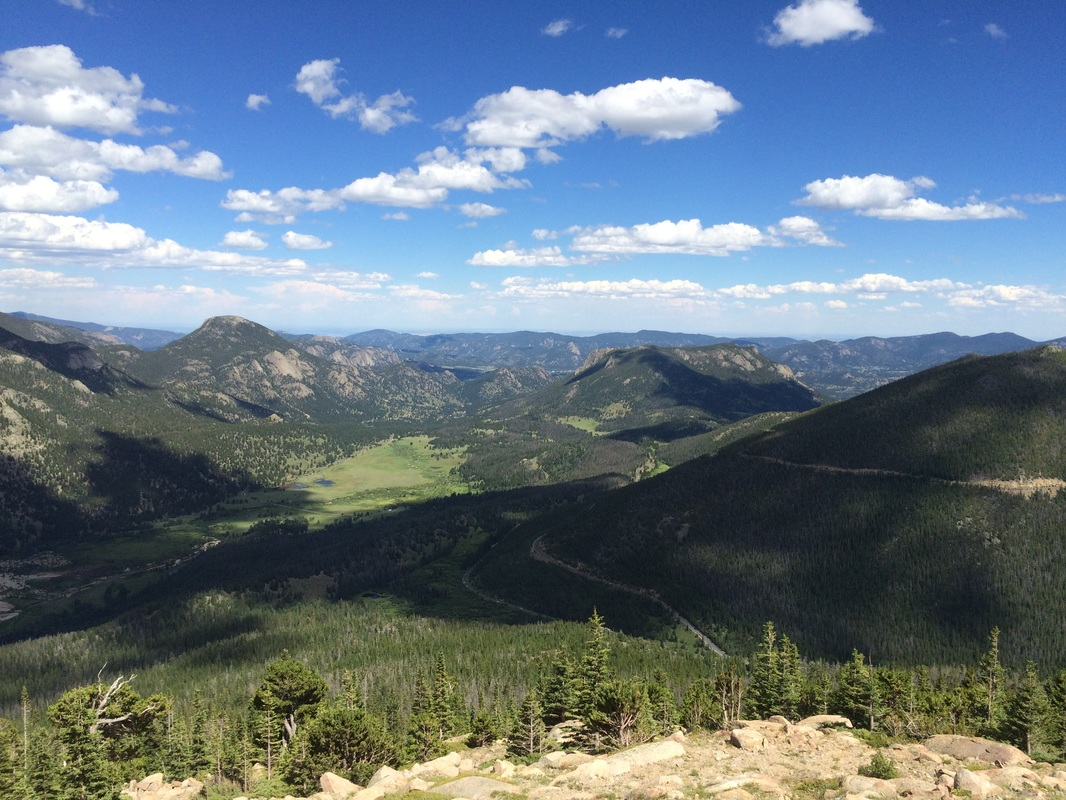 Rocky mountain park, colorado